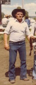 A photo of Sandy Crichton as a younger man